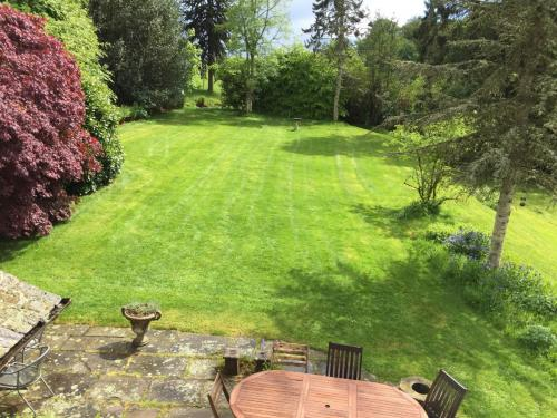 Large garden with lawn for outdoor games