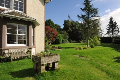 Perthshire country house garden