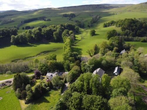 House in beautiful Perthshire countryside
