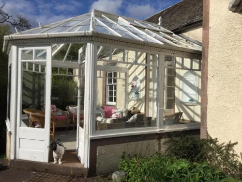 Conservatory for relaxing
