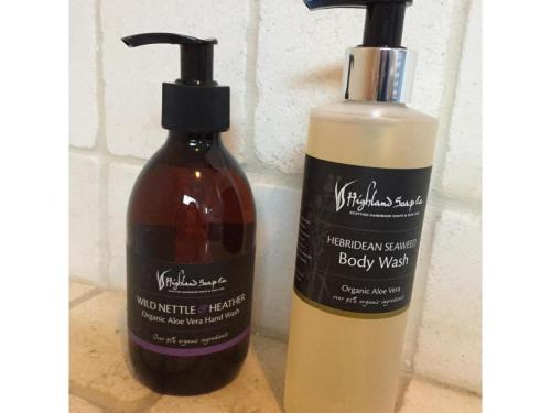 Luxury Highland Soap Company soap and body wash